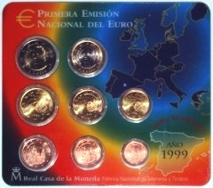 Spanish Euro Coin Set