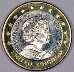 Britische Euromünzen