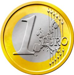 Image result for photo of the euro coin