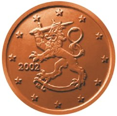 The Heraldic Lion In Different Designs Has Been Used Several Finnish Coins Over