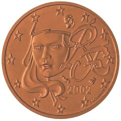 French 1 Cent