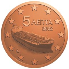 Greek 5 Cents