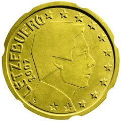 Luxembourg 20 Cents