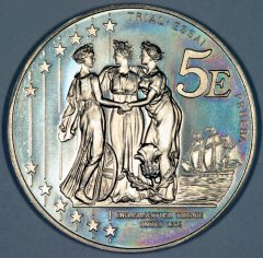 Reverse of 2003 UK Pattern 5 Euro