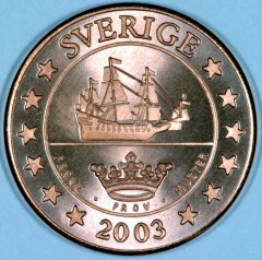 Swedish 5 Cent Pattern Coin
