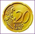Common Reverse Design of the 20 Euro Cent Coin