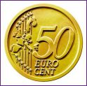 Common Reverse Design of the 50 Euro Cent Coin