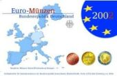 German 2002 Euro Coin Mint Set