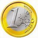 Bán mấy đồng tiền xu 1,2 euro, 50 cent